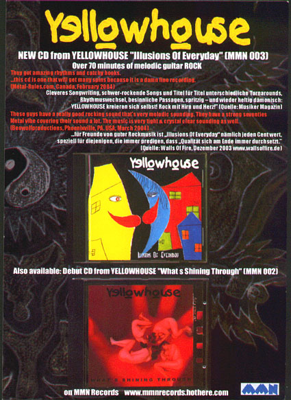 NEW Yellowhouse flyer 2005
